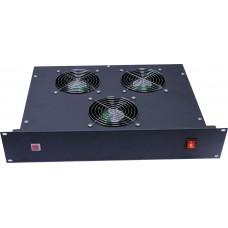 RAC-RF3-19 2U блок с тремя вентиляторами