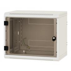 """19"""" настенный шкаф односекционный со съёмными стенками 6U (370x600x500)"""