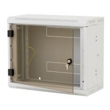 """19"""" настенный шкаф двухсекционный 9U (520x600x295)"""